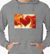 Burning Heart Lightweight Hoodie