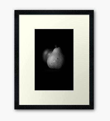 A Pear....................of apples Framed Print