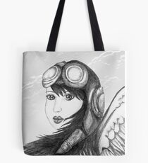 Angel Flight One - Preparing for Takeoff Tote Bag