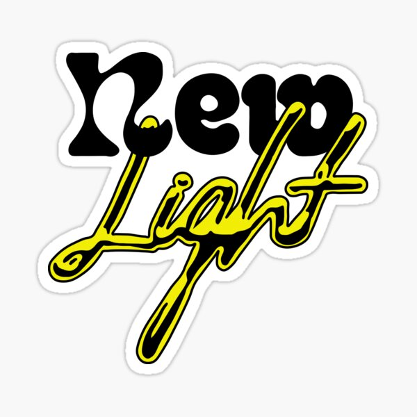 new light Sticker