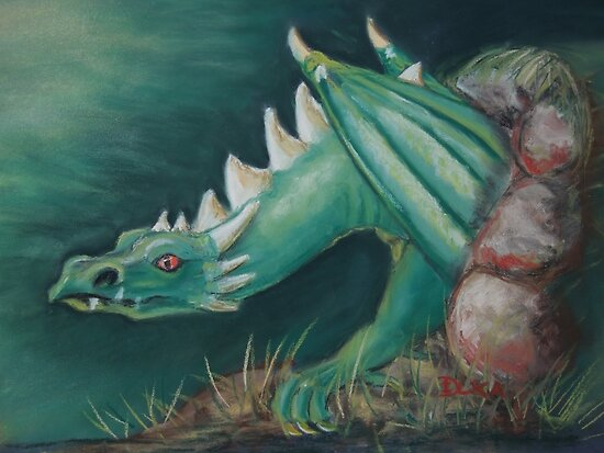 Forest Dragon by Dianne  Ilka