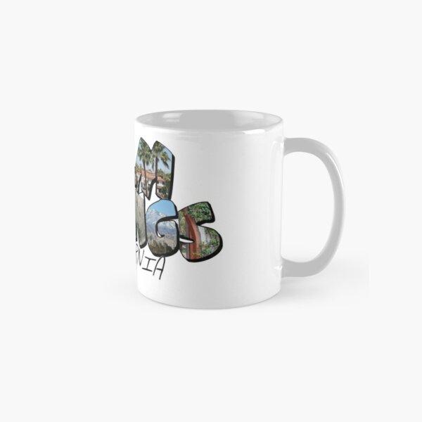 Large Letter Palm Springs California Classic Mug