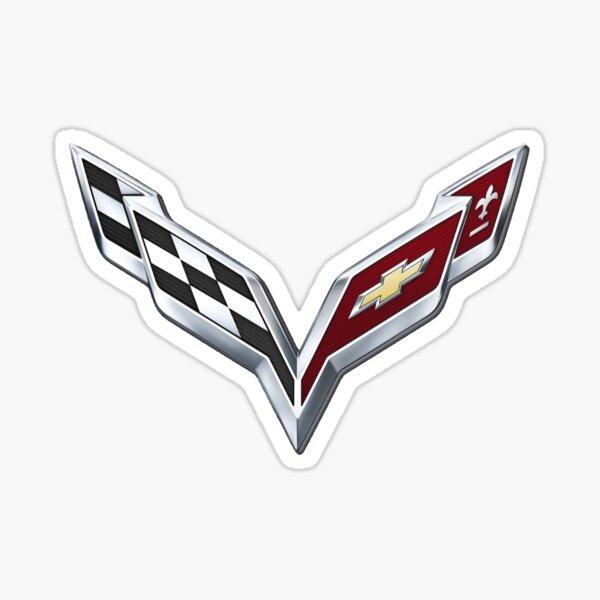 Corvette Logo 2 Sticker