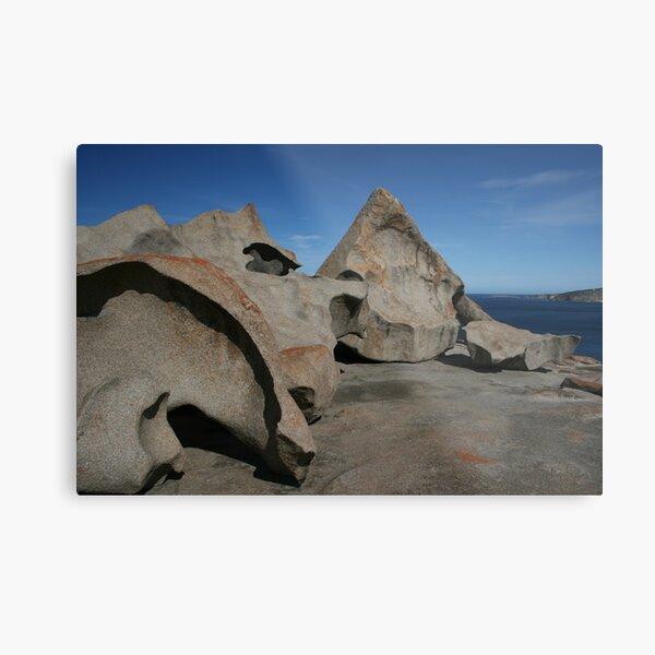 Remarkable Rocks Metal Print