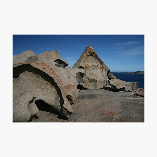 Remarkable Rocks Photographic Print