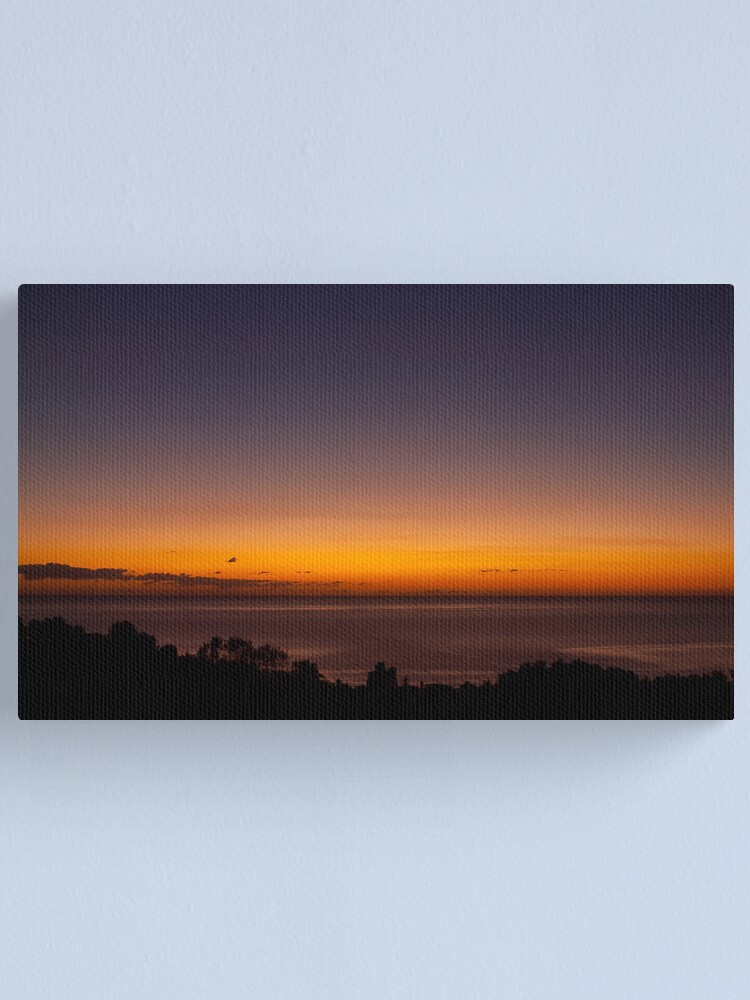 Alternate view of A new day Canvas Print