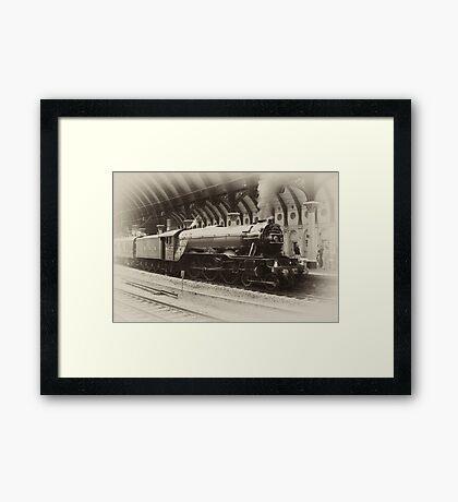 Flying Scotsman Framed Print