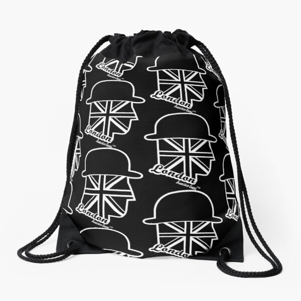 London Gentleman by Francisco Evans ™ Drawstring Bag