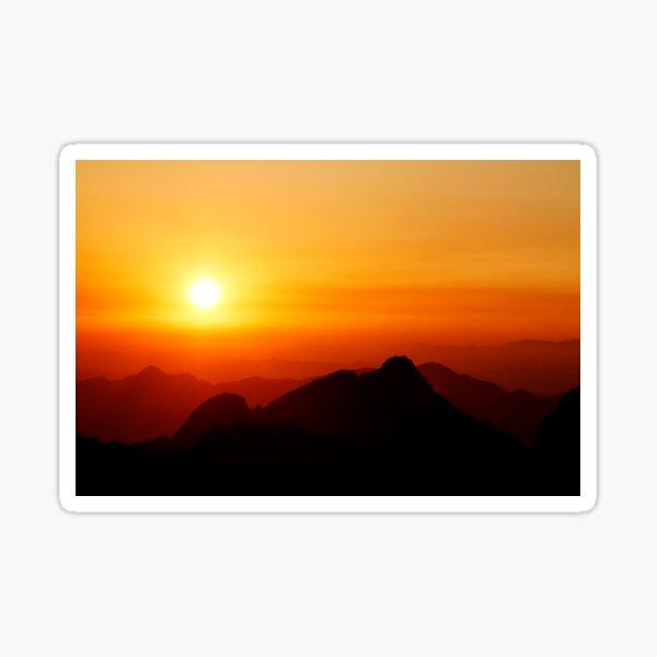 Sunrise from Huangshan Sticker