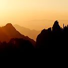 Silhouettes at Sunrise by May-Le Ng