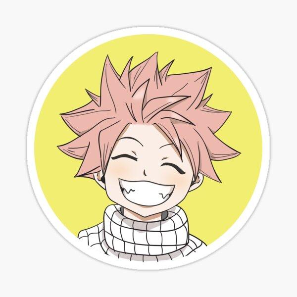 Natsu Circle Chibi Sticker