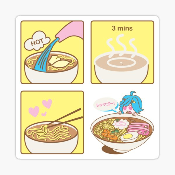 How To Ramen Sticker