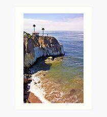 Pismo Beach Coastline Art Print