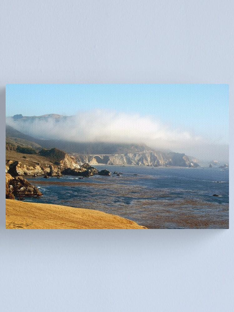 Alternate view of Coastal Gold Canvas Print
