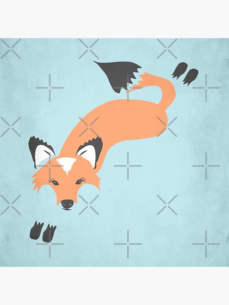 Foxy Roxy by beththompsonart