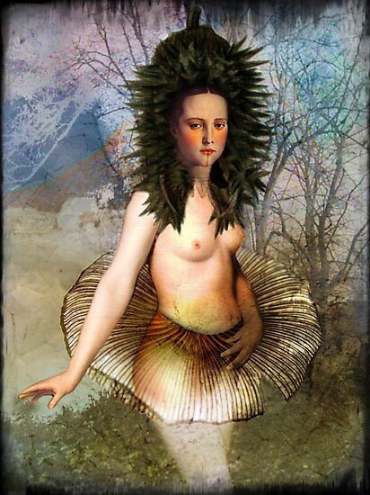 The dancer by Catrin Welz-Stein