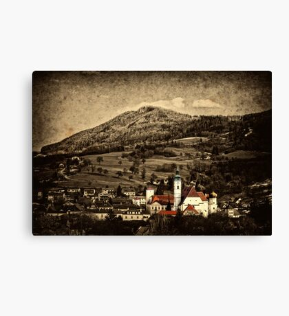 My little town Canvas Print
