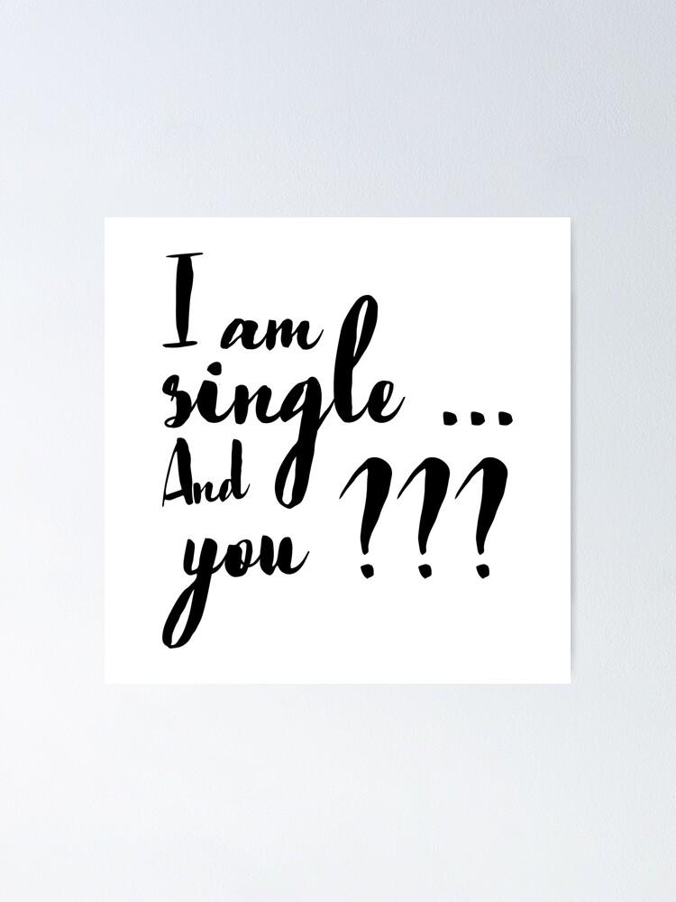 Single pics am i How to