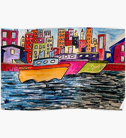 Tugboats Online Poster