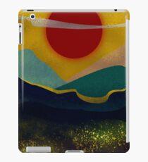 Blood Red Sun iPad Case/Skin