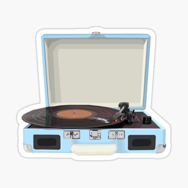 Record Player Sticker