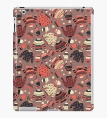 Warm knitted Winter wear seamless pattern iPad Case/Skin