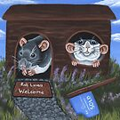 Rat Lovers Welcome by WolfySilver