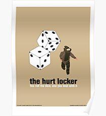 Das verletzte Schließfach Poster