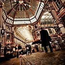 The Leadenhall Market by Frank Waechter