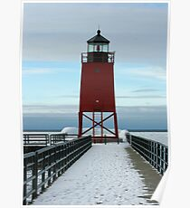 Charlevoix Lighthouse Poster