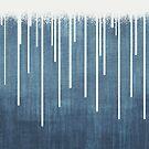 DROPS / Azure Blue, Cool Gray von Daniel Coulmann