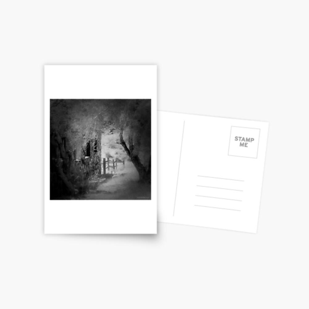 Abandoned Postcard