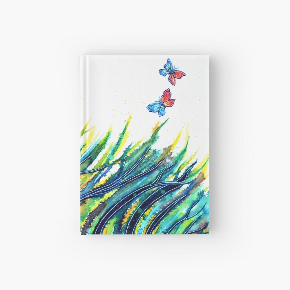 Rainbow Grass Hardcover Journal