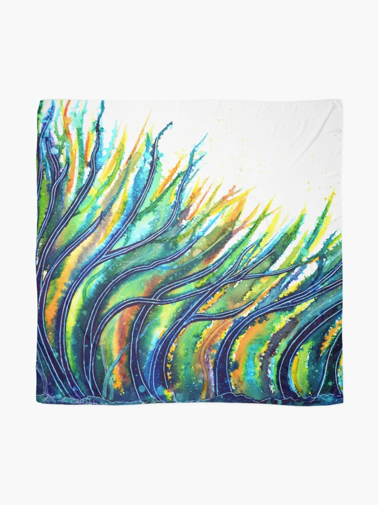 Alternate view of Rainbow Grass Scarf