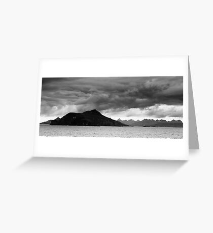 Edge of the World Greeting Card