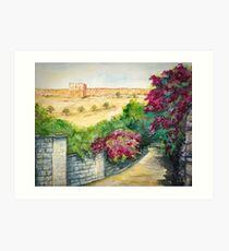 Road To Eastern Gate Art Print