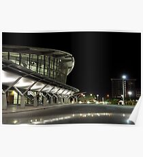 Darwin Convention Centre at Night 2 Poster