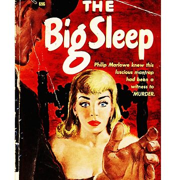 The Big Sleep Raymond Chandler Book Cover by buythebook86