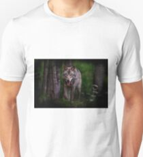 Timberwolf 1 - Photoshop Manipulation Unisex T-Shirt