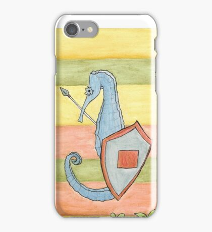 S is for Seahorse iPhone Case/Skin