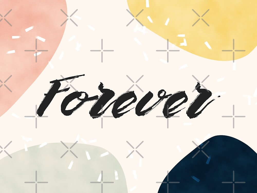 Forever #redbubble #love by designdn
