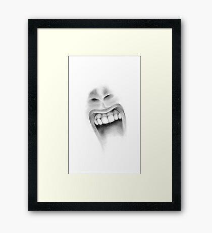 AARGGH! Framed Print