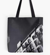 Manhattan Building + Cloud Tote Bag