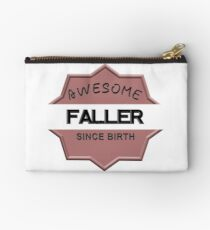 Awesome Faller Since Birth Studio Pouch