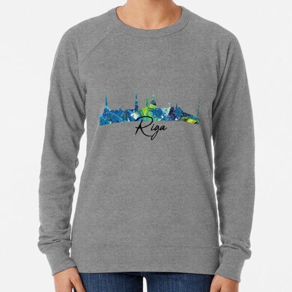 Skyline Riga Design Lightweight Sweatshirt
