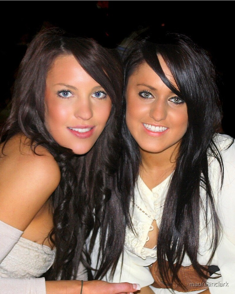 Two pretty girls  by maureenclark
