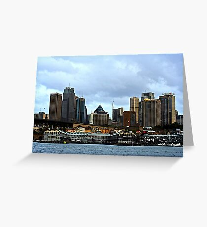 A View Of Sydney Greeting Card