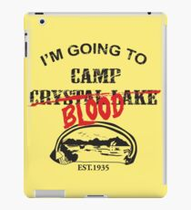 Camp Blood iPad Case/Skin