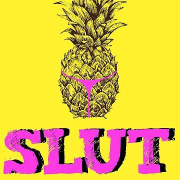 Pineapple slut Brooklyn nine nine by PM-TShirts