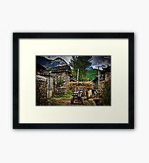 Rural China Framed Print